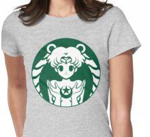 Moonbucks Womens Fitted T-Shirt