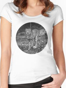 BW Cheetah Women's Fitted Scoop T-Shirt