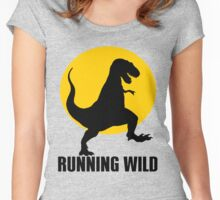 RUNNING WILD Women's Fitted Scoop T-Shirt