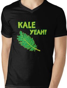 Kale Yeah! Funny quote about Kale. Mens V-Neck T-Shirt