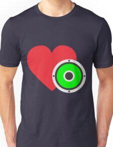 Love Music Bass Unisex T-Shirt