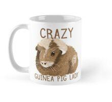 Crazy Guinea Pig Lady (new painted dappled pig) Mug