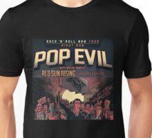 GRY02 Pop Evil Rock n Roll Now Tour 2017 Unisex T-Shirt