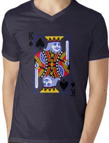 King of spades Mens V-Neck T-Shirt