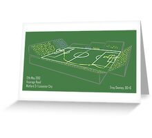 Goals In Motion: T Deeney v Leicester 2013  Greeting Card