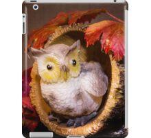 Autumnal Owl still life  iPad Case/Skin