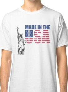 Made in the USA. (United States of America) Classic T-Shirt
