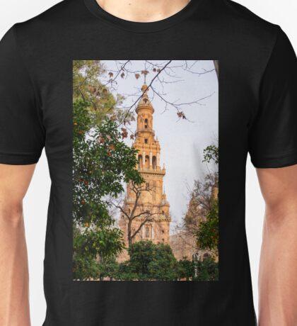 Plaza de Espana Tower  Unisex T-Shirt