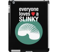 Slinky! [WHITE TEXT] iPad Case/Skin