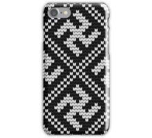 Grandma's Design: knitting pattern #13 iPhone Case/Skin