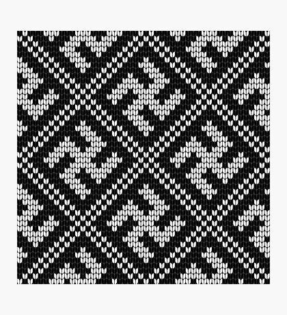 Grandma's Design: knitting pattern #13 Photographic Print