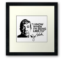 JOE KENDA Framed Print