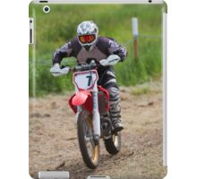 Dirt bike racing iPad Case/Skin