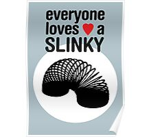 Slinky! [BLACK TEXT] Poster