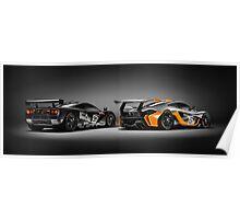 Mclaren F1 GTR Mclaren P1 GTR Poster