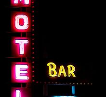 Motel  - Bar -  HBO - No Vacancy by Bo Insogna