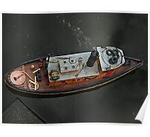 River Tug Replica Poster