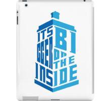Its Bigger On The Inside iPad Case/Skin