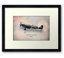 Supermarine Spitfire Mk.IX MH434 Framed Print