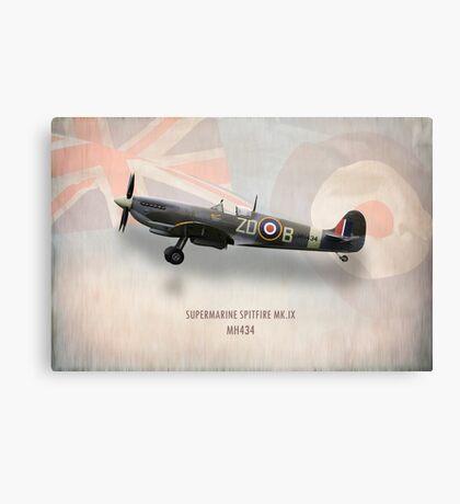 Supermarine Spitfire Mk.IX MH434 Canvas Print