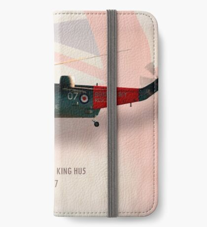 Westland Sea King HU5 XV847 iPhone Wallet/Case/Skin
