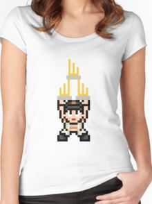 Triforce of Dynasty Women's Fitted Scoop T-Shirt