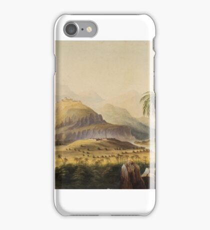Anglo-Indian School (19th Century) Rural Indian landscape iPhone Case/Skin