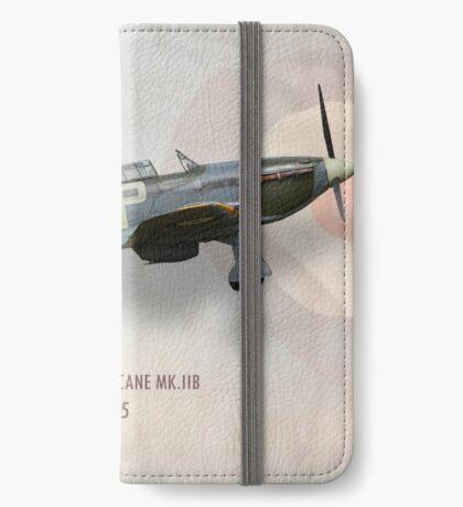 Hawker Hurricane Mk.IIB BE505 iPhone Wallet/Case/Skin