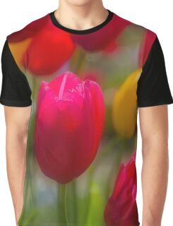 Tulips in the Breeze #3 Graphic T-Shirt