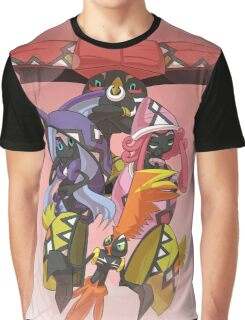 Tapus Pokemon Graphic T-Shirt