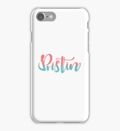 Pristin kpop logo O iPhone Case/Skin