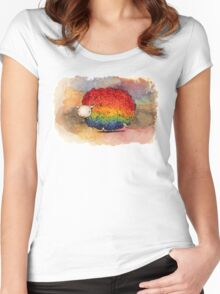 Nyan Sheep Women's Fitted Scoop T-Shirt