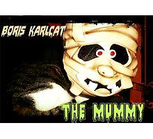 Boris Karlcat in the Halloween classic 'The Mummy' Photographic Print