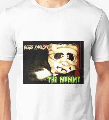 Boris Karlcat in the Halloween classic 'The Mummy' Unisex T-Shirt