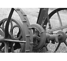 Antique Cutter in Black & White Photographic Print