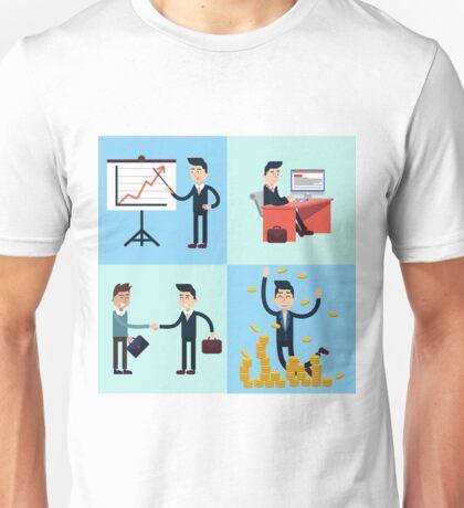 Successful Businessman Career Unisex T-Shirt