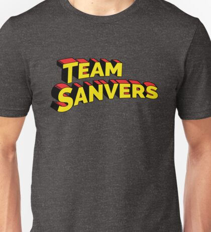 It's Supergay Team Sanvers. Unisex T-Shirt