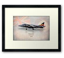 Harrier GR9 ZG858 Framed Print