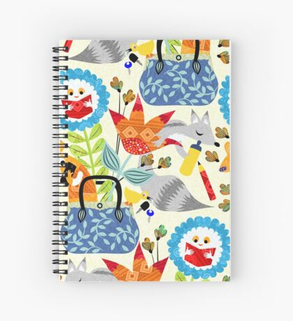 fantasy bag Spiral Notebook