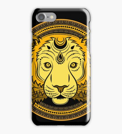 Stylized Tiger face iPhone Case/Skin