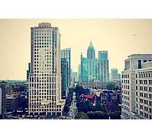 Hazy Lazy Sunday in Atlanta, Ga. Photographic Print