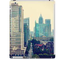 Hazy Lazy Sunday in Atlanta, Ga. iPad Case/Skin
