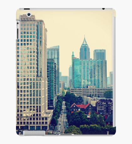 Hazy Lazy Sunday in Atlanta, Ga. iPad Case/Skin