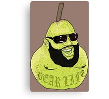 Shout out to all the Pears Canvas Print