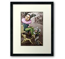 Renaissance Poet. Framed Print