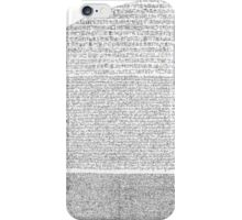 Rosetta Stone Xray  iPhone Case/Skin