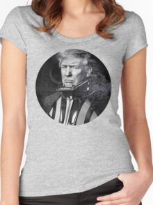 Darth Donald Trump   Dark Lord of the Galactic Empire of America Women's Fitted Scoop T-Shirt