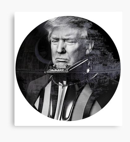 Darth Donald Trump   Dark Lord of the Galactic Empire of America Canvas Print