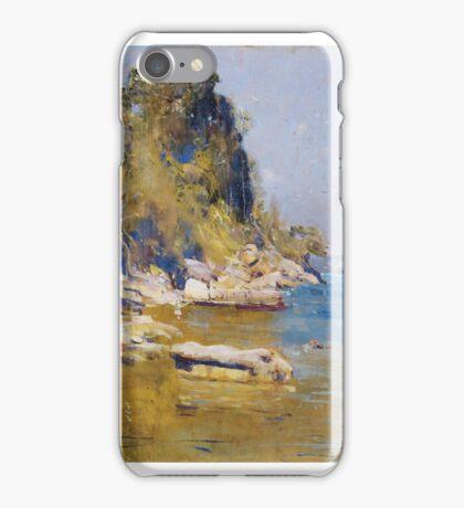 Arthur Streeton ,  (Sirius Cove) iPhone Case/Skin