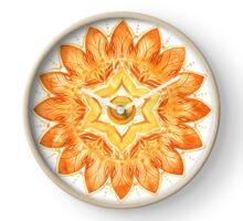 Sacral Chakra Mandala Clock